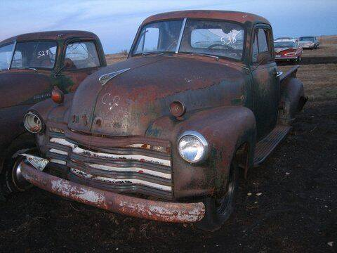 1951 Chevrolet C/K 20 Series for sale at Classic Car Deals in Cadillac MI