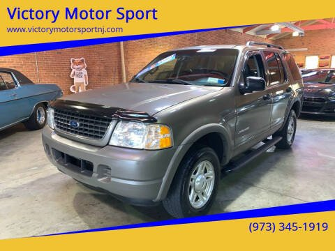 2002 Ford Explorer for sale at Victory Motor Sport in Paterson NJ
