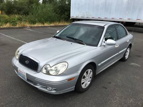 2005 Hyundai Sonata for sale at Rynok Auto Sales LLC in Auburn WA