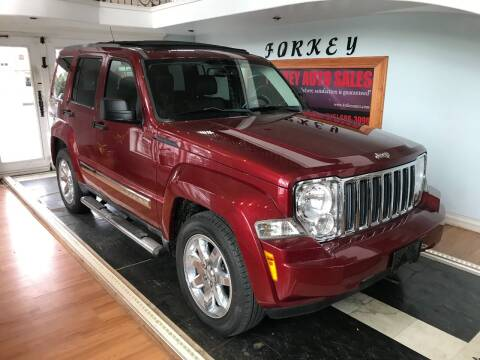 2011 Jeep Liberty for sale at Forkey Auto & Trailer Sales in La Fargeville NY