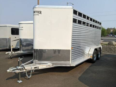 """2021 Frontier Livestock 16'7"""""""