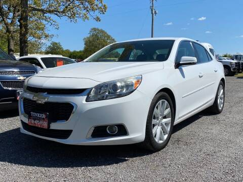 2014 Chevrolet Malibu for sale at TINKER MOTOR COMPANY in Indianola OK