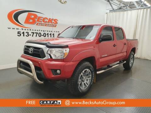 2015 Toyota Tacoma for sale at Becks Auto Group in Mason OH