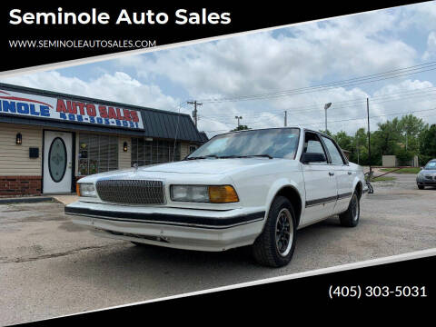 1992 Buick Century for sale at Seminole Auto Sales in Seminole OK