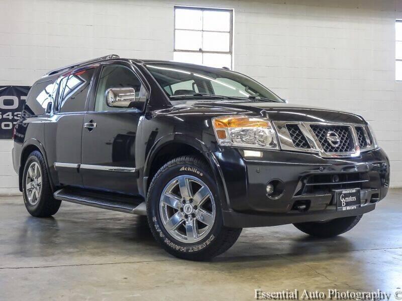 2014 Nissan Armada for sale at GB Motors in Addison IL