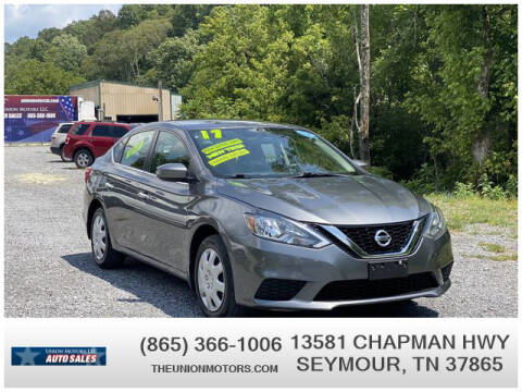 2017 Nissan Sentra for sale at Union Motors in Seymour TN