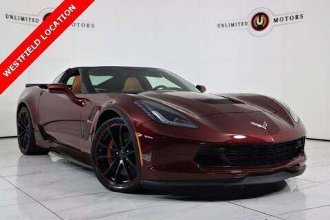 2019 Chevrolet Corvette for sale at INDY'S UNLIMITED MOTORS - UNLIMITED MOTORS in Westfield IN