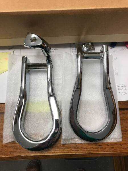 Chevrolet RECOVERY CHROME HOOKS for sale at Tyndall Motors - Clearance in Tyndall SD