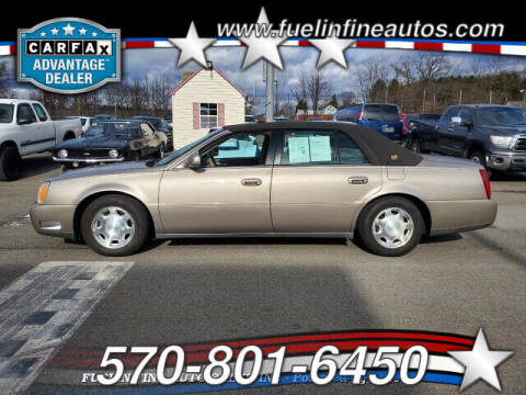 2001 Cadillac DeVille for sale at FUELIN FINE AUTO SALES INC in Saylorsburg PA