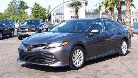 2019 Toyota Camry for sale at Okaidi Auto Sales in Sacramento CA