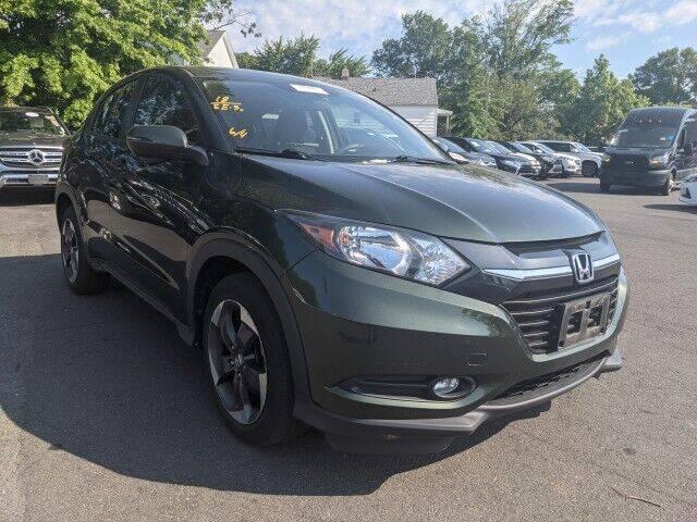 2018 Honda HR-V for sale at EMG AUTO SALES in Avenel NJ