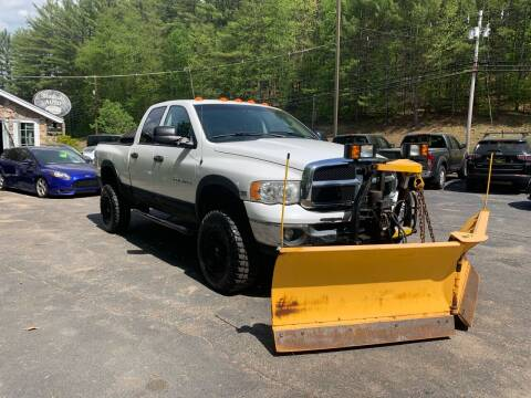 2004 Dodge Ram Pickup 2500 for sale at Bladecki Auto LLC in Belmont NH