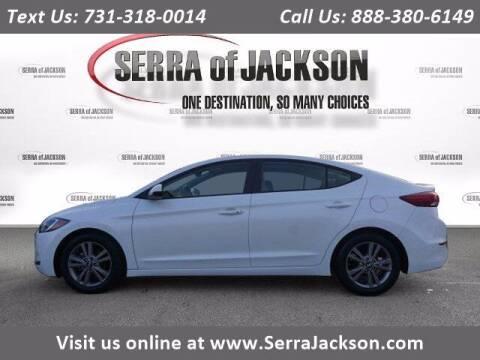 2017 Hyundai Elantra for sale at Serra Of Jackson in Jackson TN