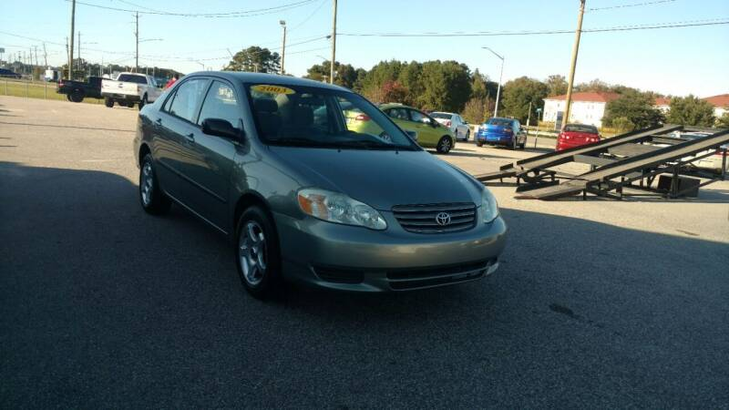2003 Toyota Corolla for sale at Kelly & Kelly Supermarket of Cars in Fayetteville NC