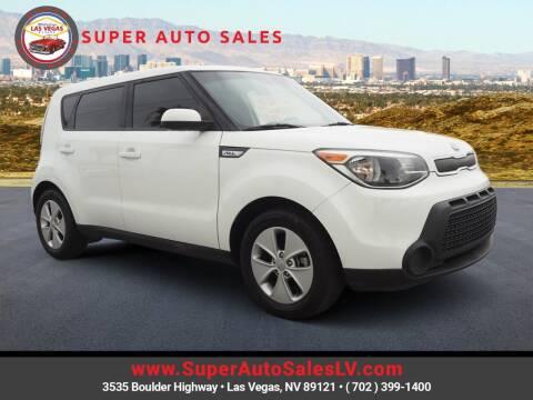 2016 Kia Soul for sale at Super Auto Sales in Las Vegas NV