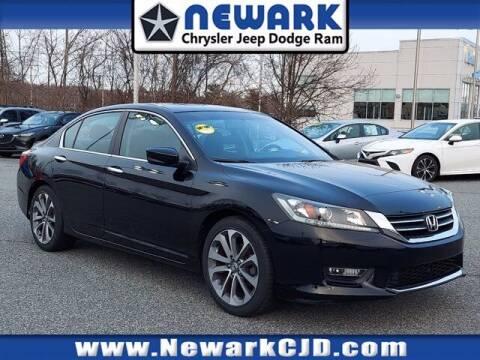 2013 Honda Accord for sale at NEWARK CHRYSLER JEEP DODGE in Newark DE