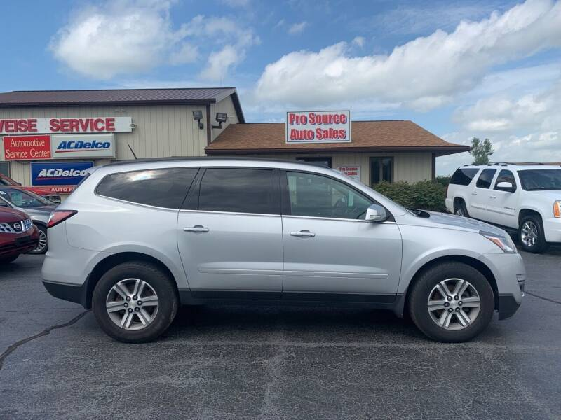 2017 Chevrolet Traverse for sale at Pro Source Auto Sales in Otterbein IN
