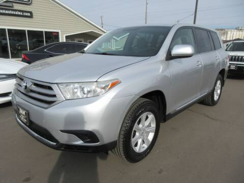 2013 Toyota Highlander for sale at Dam Auto Sales in Sioux City IA