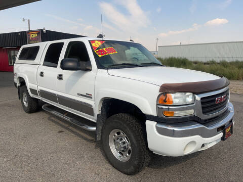 2003 GMC Sierra 2500HD for sale at Top Line Auto Sales in Idaho Falls ID