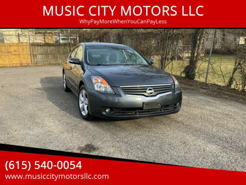 2007 Nissan Altima for sale at MUSIC CITY MOTORS LLC in Nashville TN