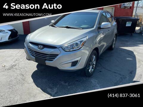 2015 Hyundai Tucson for sale at 4 Season Auto in Milwaukee WI