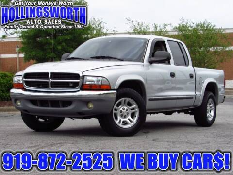2004 Dodge Dakota for sale at Hollingsworth Auto Sales in Raleigh NC