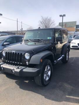2016 Jeep Wrangler for sale at Red Top Auto Sales in Scranton PA