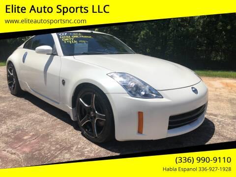 2007 Nissan 350Z for sale at Elite Auto Sports LLC in Wilkesboro NC