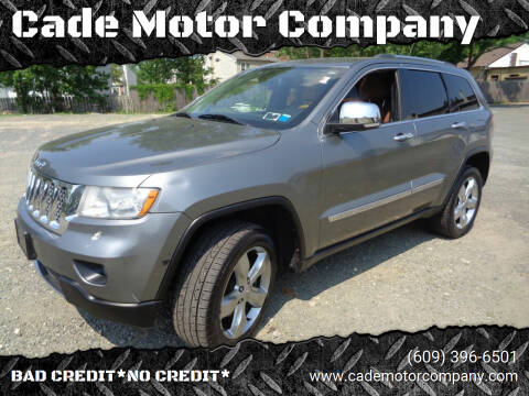 2013 Jeep Grand Cherokee for sale at Cade Motor Company in Lawrenceville NJ