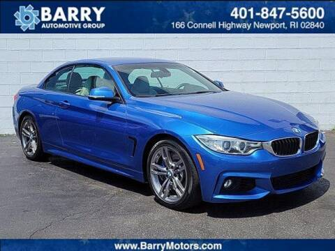 2015 BMW 4 Series for sale at BARRYS Auto Group Inc in Newport RI
