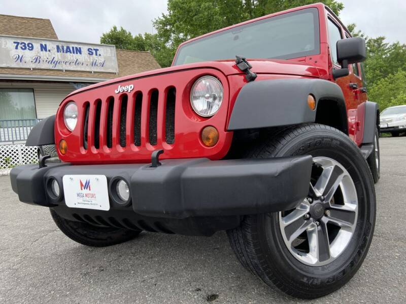 2011 Jeep Wrangler Unlimited for sale at Mega Motors in West Bridgewater MA