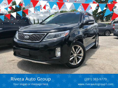 2014 Kia Sorento for sale at Rivera Auto Group in Spring TX