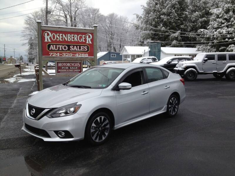 2019 Nissan Sentra for sale at Rosenberger Auto Sales LLC in Markleysburg PA