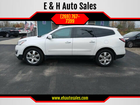 2017 Chevrolet Traverse for sale at E & H Auto Sales in South Haven MI