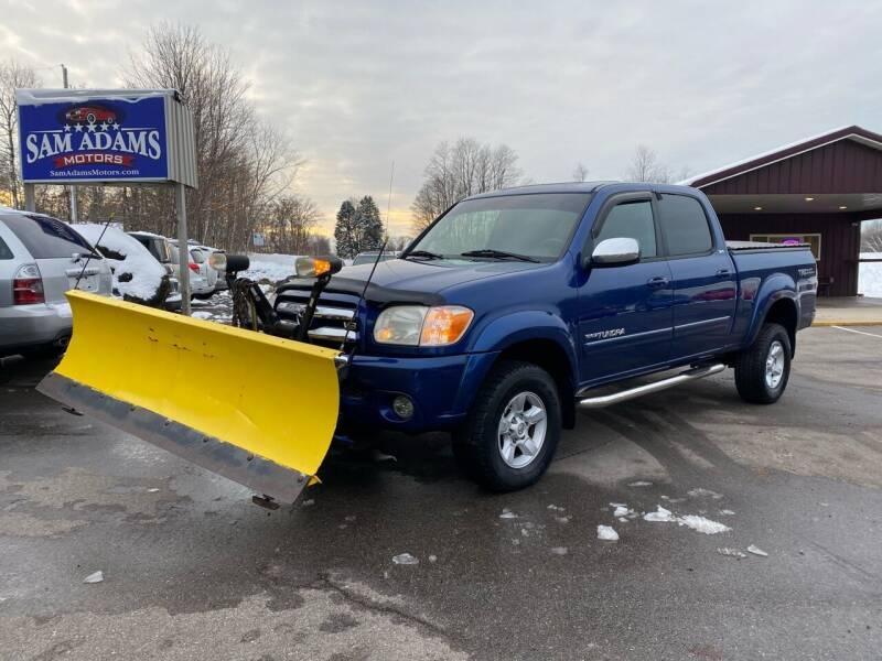 2006 Toyota Tundra for sale at Sam Adams Motors in Cedar Springs MI