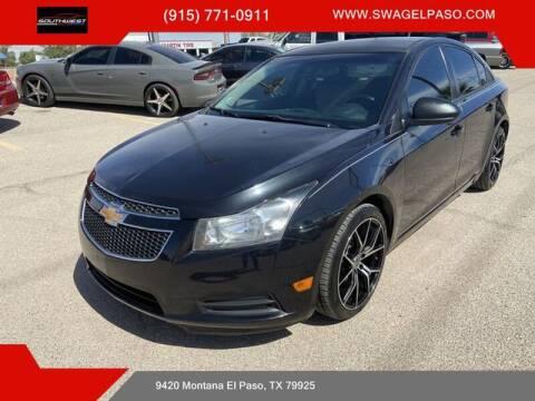 2014 Chevrolet Cruze for sale at SOUTHWEST AUTO GROUP-EL PASO in El Paso TX