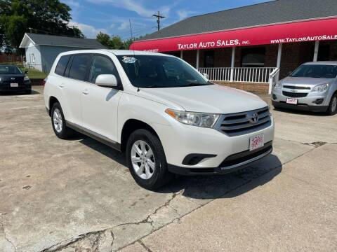 2012 Toyota Highlander for sale at Taylor Auto Sales Inc in Lyman SC