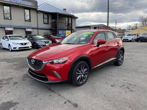 2018 Mazda CX-3 for sale at Sisson Pre-Owned in Uniontown PA