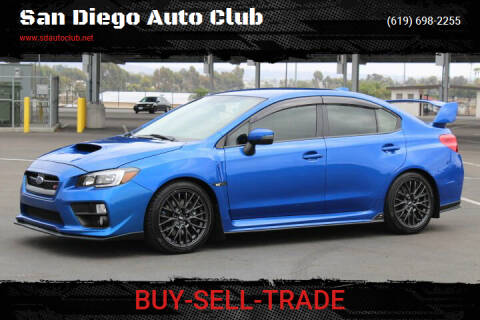 2017 Subaru WRX for sale at San Diego Auto Club in Spring Valley CA