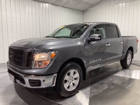 2019 Nissan Titan for sale at HILAND TOYOTA in Moline IL