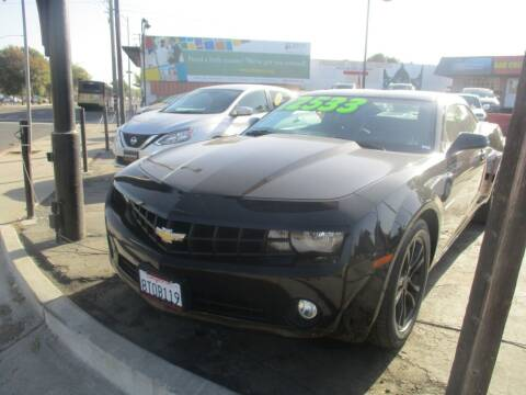 2013 Chevrolet Camaro for sale at Quick Auto Sales in Modesto CA