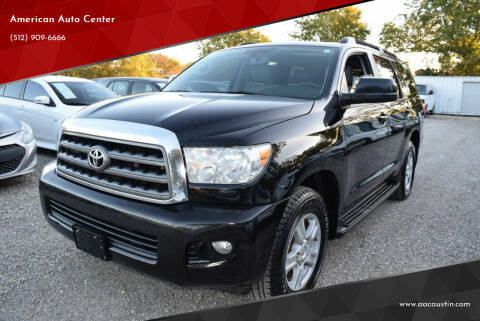 2011 Toyota Sequoia for sale at American Auto Center in Austin TX