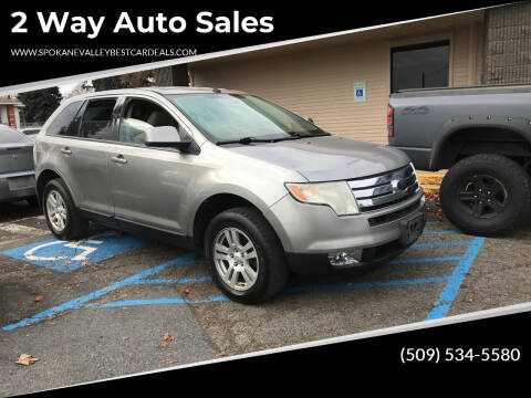 2008 Ford Edge for sale at 2 Way Auto Sales in Spokane Valley WA