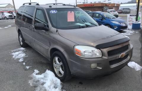 2006 Chevrolet Uplander for sale at RACEN AUTO SALES LLC in Buckhannon WV