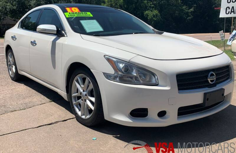 2010 Nissan Maxima for sale at VSA MotorCars in Cypress TX