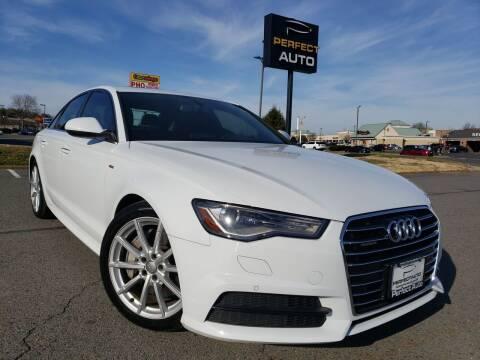 2017 Audi A6 for sale at Perfect Auto in Manassas VA