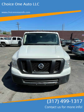 2015 Nissan NV Cargo for sale at Choice One Auto LLC in Beech Grove IN