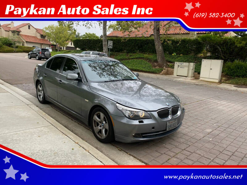 2008 BMW 5 Series for sale in San Diego, CA