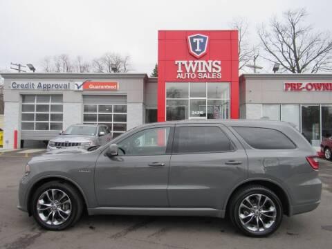 2020 Dodge Durango for sale at Twins Auto Sales Inc in Detroit MI