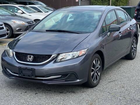 2015 Honda Civic for sale at MAGIC AUTO SALES - Magic Auto Prestige in South Hackensack NJ